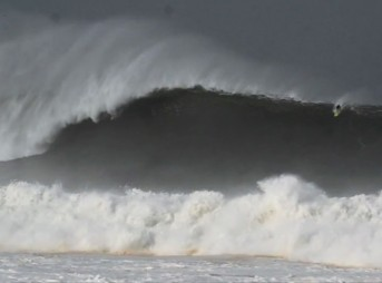Mark Healey Surfs Biggest Paddle In Wave Ever at Puerto Escondido