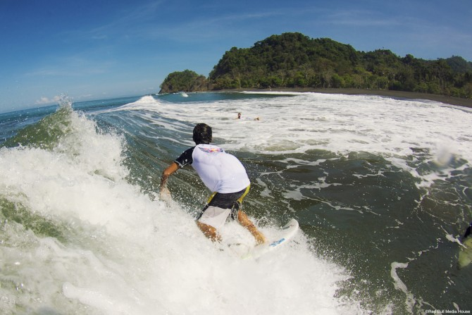 Central American surf is perfect for training up the next generation! ©Red Bull Media House
