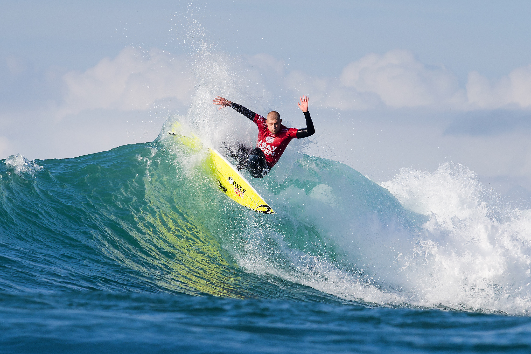 Switching from a pumping left-hand reef break like Cloudbreak to the racing right-hand point break that is J-Bay can be tricky.