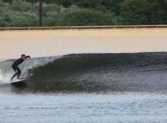 This is the First Real Surf Snowdonia Wavegarden Session
