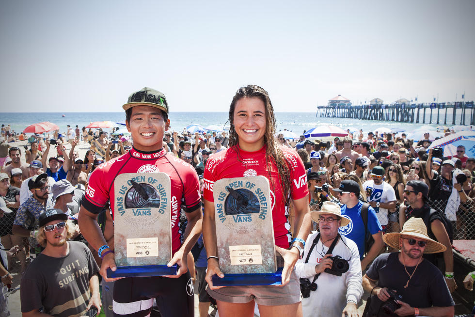 Hiroto Ohhara Becomes First Japanese Surfer to Win U.S. Open of Surfing