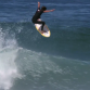 Evan Geiselman punts one into outer space. Photo: Vimeo
