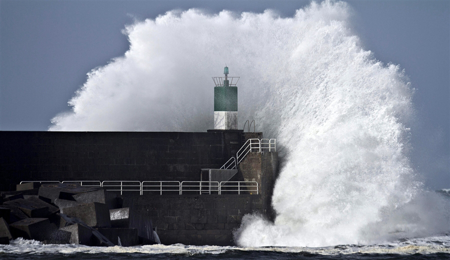 waves are getting increasingly bigger says sixty years of