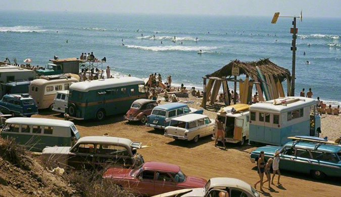 San Onofre, 1963. Photo: LeRoy Grannis