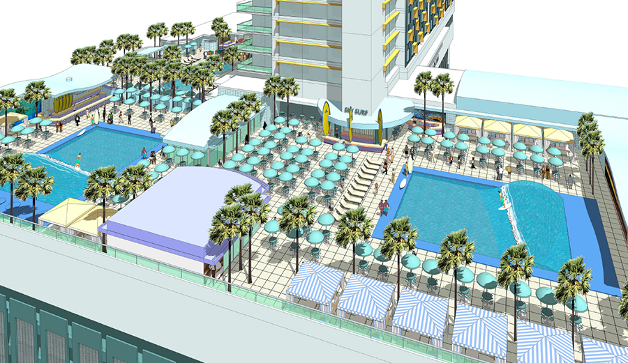 Somebody Is Building A Wave Pool 10 Stories Above Ground