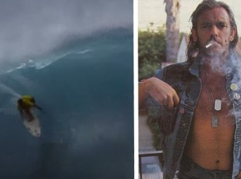 Bruce Irons + Lemmy = cinematic gold.