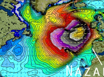 Swell Chart Nazare