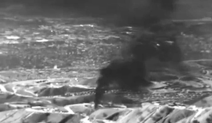 Just because you can't see it doesn't mean it's not there. A massive methane leak in hills above Los Angeles is violently spewing hundreds of thousands of pounds of gas into the atmosphere... and there's no end in sight.