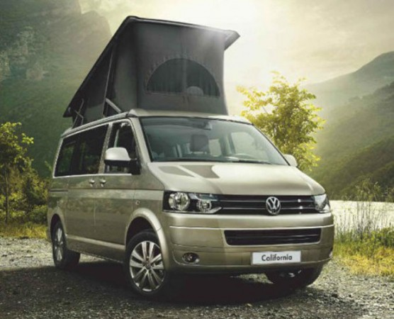 All new T6 VW California. Photo Courtesy of VW