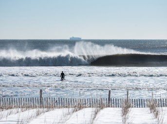 Jonas. Freezing and firing in Jersey. Photo: Andreea Water