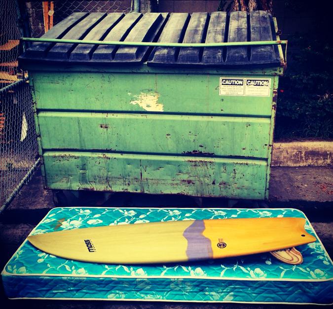 No trash here. Photo: Eco-Flex Surfboards