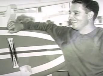 Larry Gordon, surfboard innovator, passed away on January 1, 2016.
