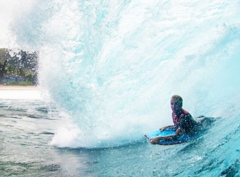 J.O.B. isn't just a surfer. He's a wave rider, damn it.