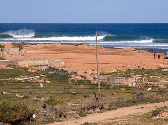 Wada Naga, the longest left in the Med.