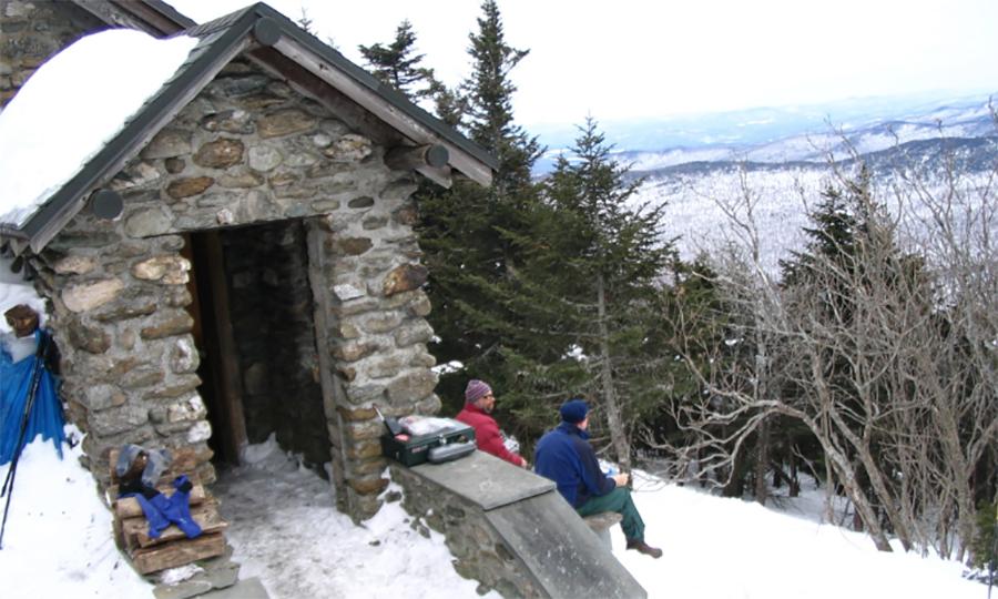 Burton Family Accidentally Burns Warming Hut Atop Mount
