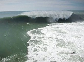 Maverick's is a terrifying wave. Big, cold, and angry, the place is that both makes and breaks surfers.