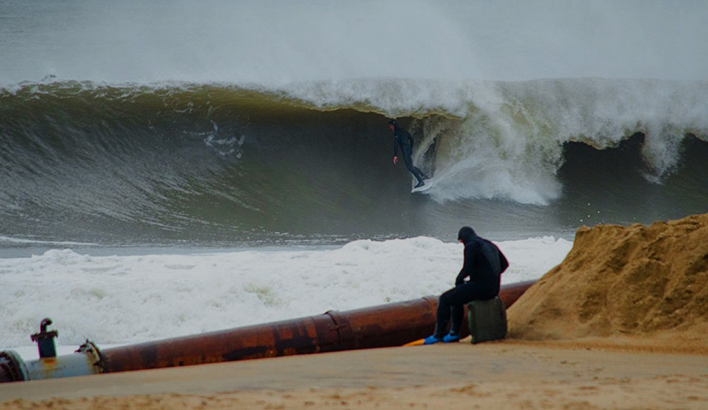 If the water looks like this, think twice about paddling out. Photo: Jeremy Hall.