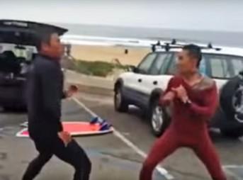 El Porto Fight