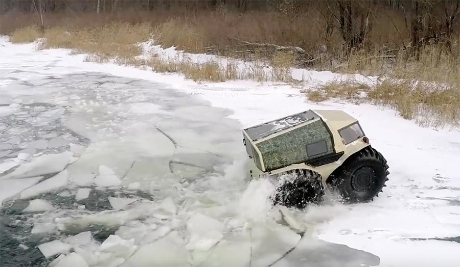Utv Tires For Sale >> New Russian Truck is Part ATV, Part Tank | The Inertia