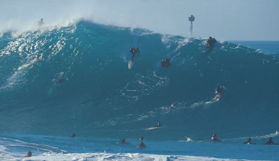 This is a Different Breed of Big Wave Surfing