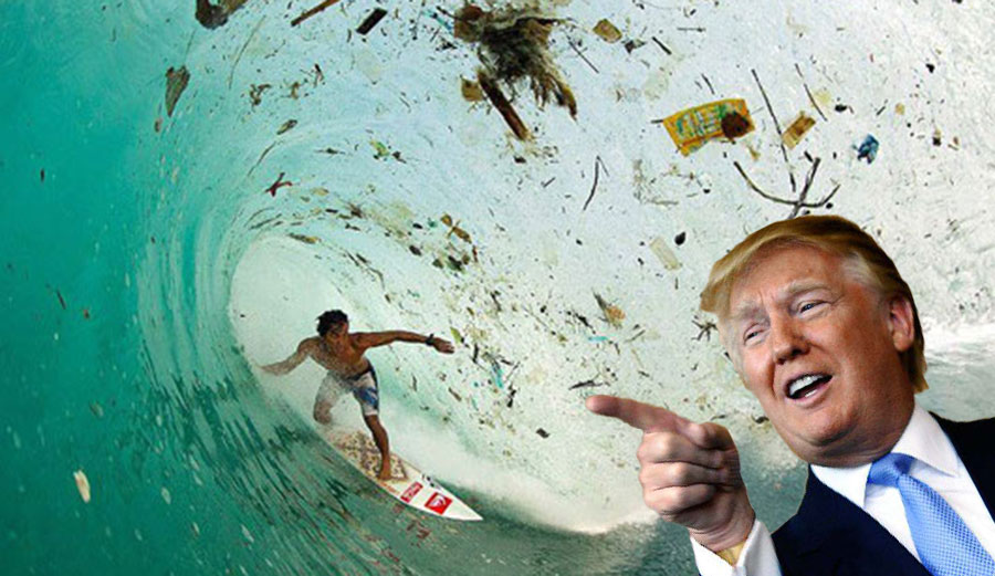 """""""Ha ha! Get bent, EPA!"""" -Donald Trump"""