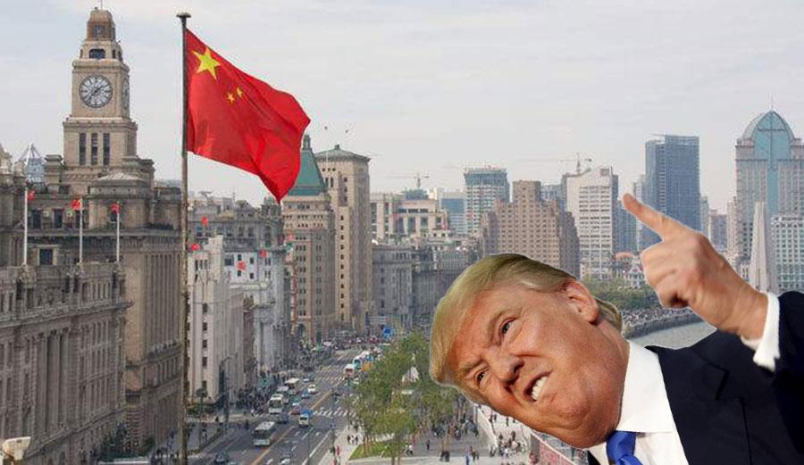 """""""Get bent, China!"""" -Donald Trump"""