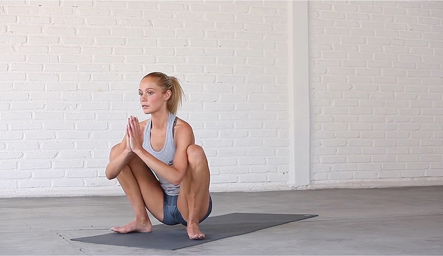 Pose For The Weekend Yoga Squat The Inertia