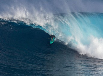 One of big-wave surfing's most accomplished surfers: Paige Alms. Photo: WSL
