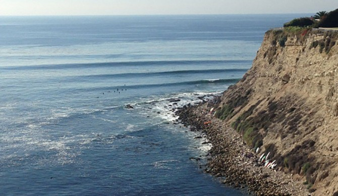 More surfers are coming out of the wood work, claiming harassment and intimidation kept them from surfing at Lunada Bay. Photo: LevinMore surfers are coming out of the wood work, claiming harassment and intimidation kept them from surfing at Lunada Bay. Photo: Levin