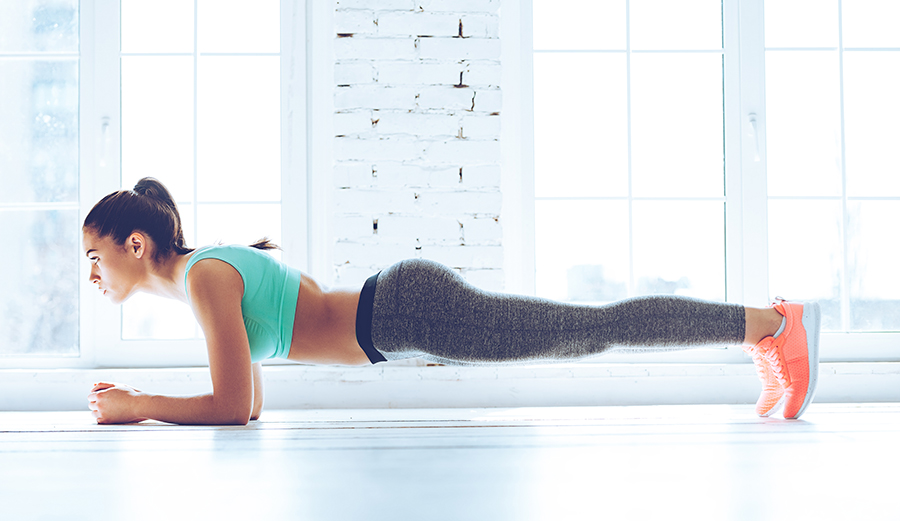 This 23 Minute Plank Workout Works More Than Just Your Abs