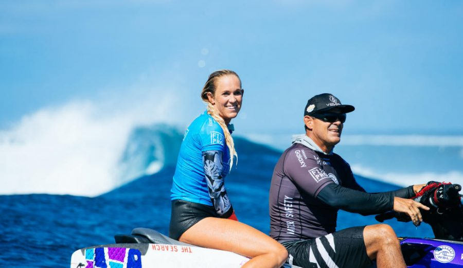 Bethany Hamilton. Hard to find a better role model. Photo: WSL