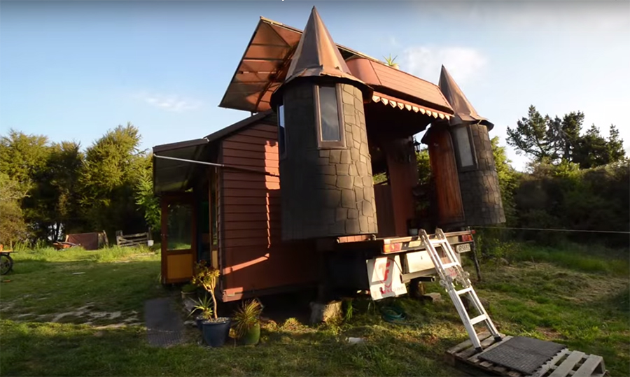 This Eco Friendly Home On Wheels That Turns Into A Castle