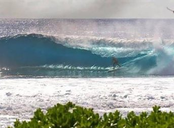 Welcome, Cook Islands. Photo: Surfing Cook Islands