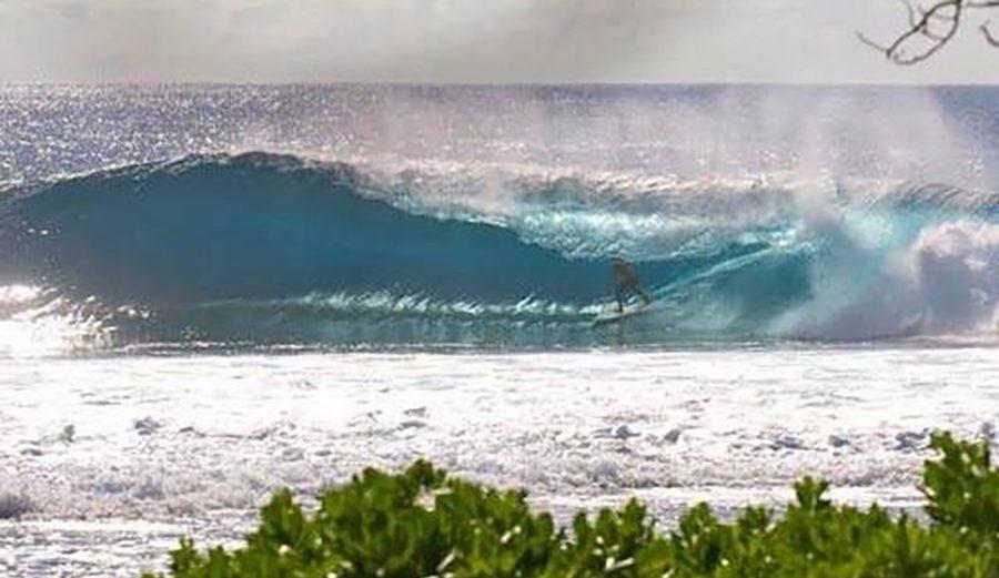 Welcome, Cook Islands. Photo: Surfing Cook Islands