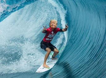 I own the WSL! I own this wave! I'm going to build a wall around it!