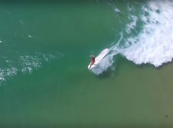 If you're a surfer, Noosa is a great place to be one.