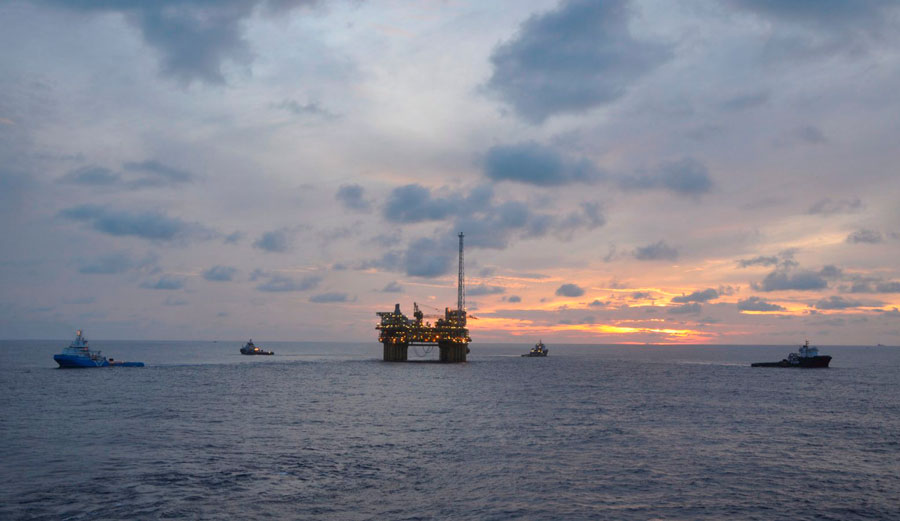 One of Shell's deepwater rigs. Image: Shell