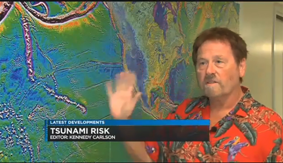 Researchers at University of Hawaii Manoa found that if a tsunami were to hit Hawaii, the island would have four hours to prepare. Image: Hawaii News Now