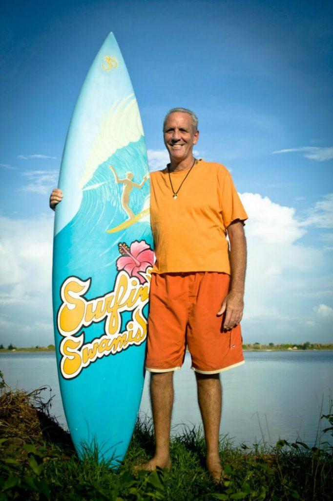 Perfect custom for the Surf Swami, no? Photo: Courtesy Jake Hebner