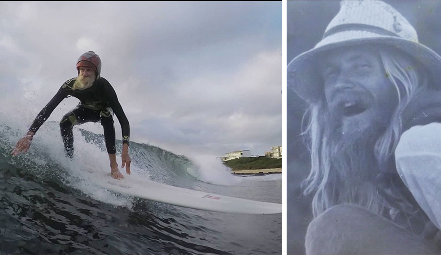 in a time where surfing seems to be taking a different, commercialized path, Bruce Gold is a reminder of what it's all about.
