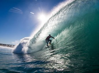 This winter was a good one for Los Angeles surfers.