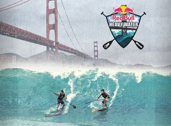 """Despite the fact that """"heavy water"""" sounds like another name for diarrhea, Red Bull's newest addition the SUP circuit is sure to be a crowd pleaser."""