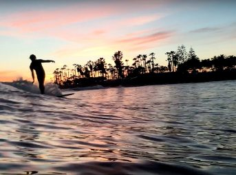 longboardsunset