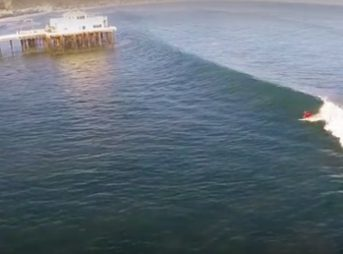 Locals hate this wave, experts say. But the few that surf here do so, because they don't have any other options. Photo: Screenshot/Youtube