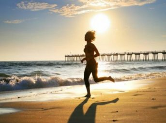 Shvitzing like a warthog might not be appealing in the oppressive summer heat, but it can help your training. Photo: Virginia Beach