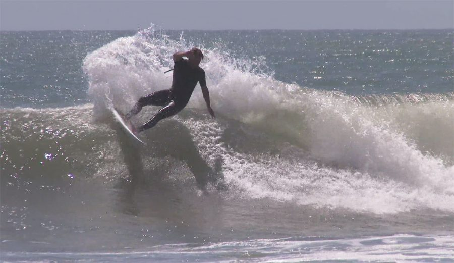 This isn't a very interesting clip of Dane Reynolds. Average waves, Dane looking a little more average than usual.