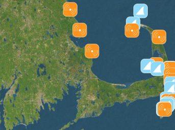 Sharktivity is an app that helps users track shark sightings in Cape Cod. Photo: Sharktivity