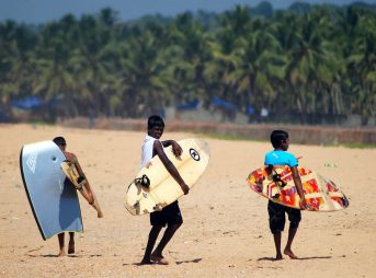 Surfing in India is thriving. And unlike its beginnings in America, parents there are embracing it. Photo: kovalamsurfclub.com