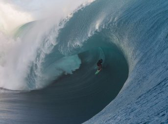 Keala Kennelly, Teahupoo. Yup, that happened.