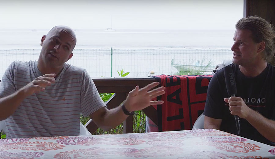 When Kelly Slater sat down with Occy for the second episode of Occ-Cast, it was bound to be an interesting conversation.